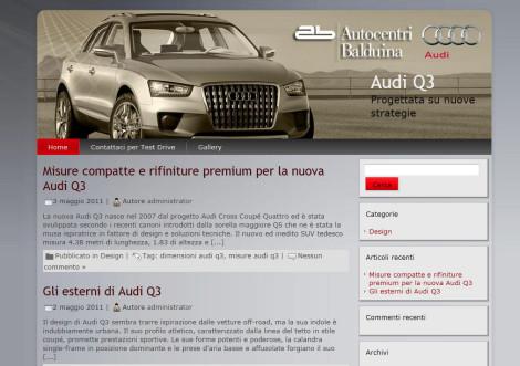Audi Q3 Autocentri Balduina Srl